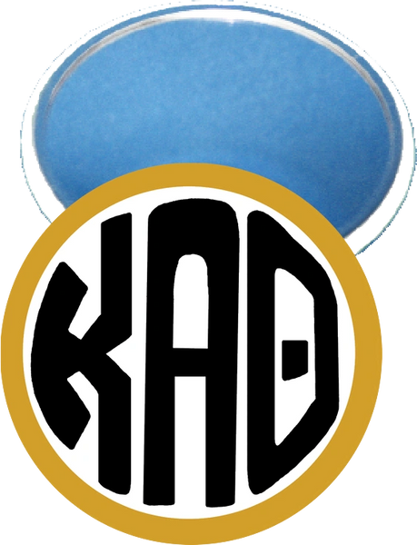 Kappa Alpha Theta Monogram Gold Mirror