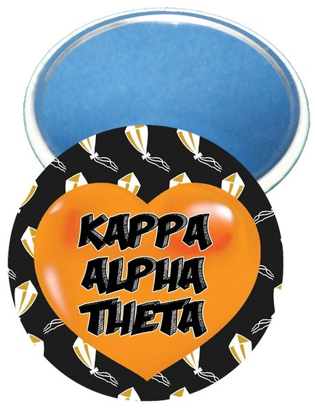 Kappa Alpha Theta Heart Mirror