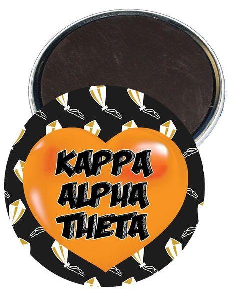 Kappa Alpha Theta Heart Magnet