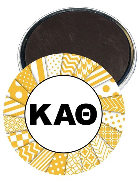 Kappa Alpha Theta Letters Magnet