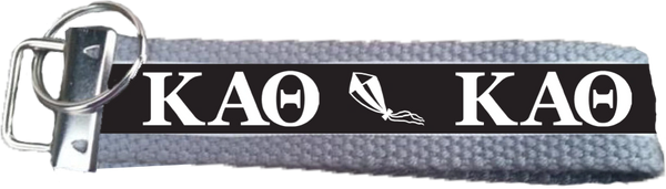 Kappa Alpha Theta Logo Key Fob