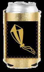 Kappa Alpha Theta Metallic Coozie with Pocket