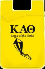 Kappa Alpha Theta Logo Cell Phone Pocket