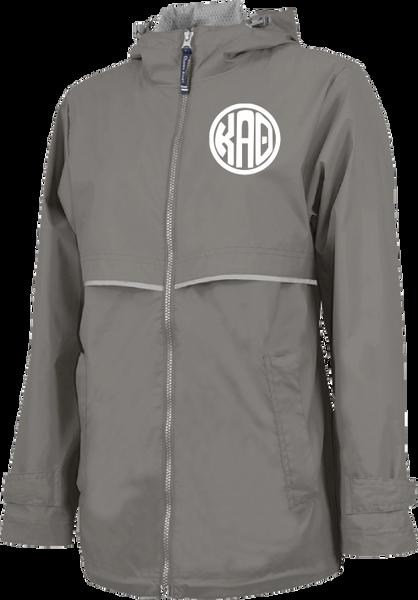 Kappa Alpha Theta Monogram Rain Jacket