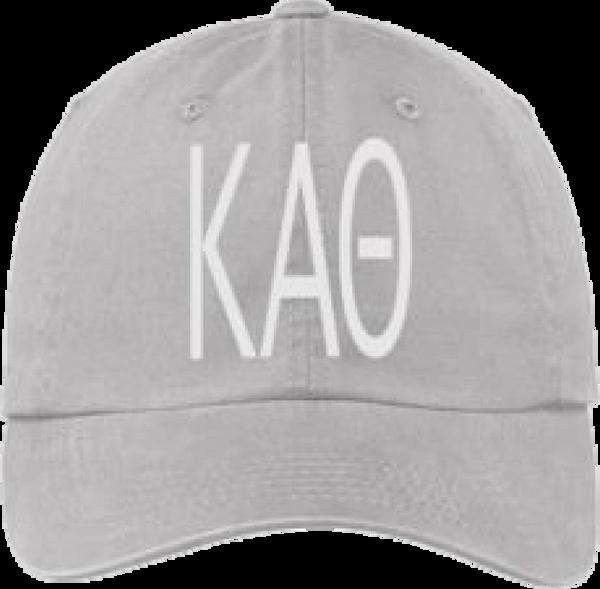 Kappa Alpha Theta Gray Ball Cap