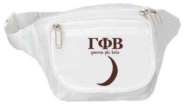 Gamma Phi Beta Logo Fanny Pack