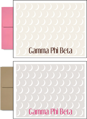 Gamma Phi Beta Sorority Postcards