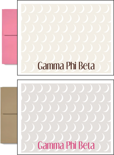 Gamma Phi Beta Sorority Postcards