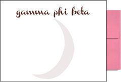 Gamma Phi Beta Background Postcards