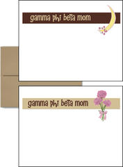 Gamma Phi Beta Mom Logo Postcards