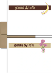 Gamma Phi Beta Logo Postcards