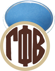 Gamma Phi Beta Monogram Tan Mirror