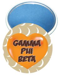 Gamma Phi Beta Heart Mirror