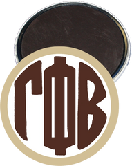 Gamma Phi Beta Monogram Tan Magnet