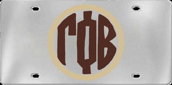 Gamma Phi Beta Aluminum Monogram License Plate