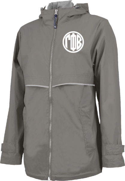 Gamma Phi Beta Monogram Rain Jacket