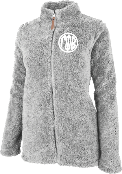 Gamma Phi Beta Fluffy Fleece Jacket