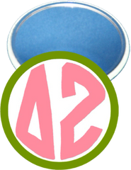 Delta Zeta Monogram Green Mirror
