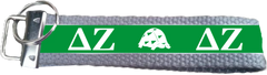 Delta Zeta Logo Key Fob
