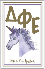 Delta Phi Epsilon Logo Poster