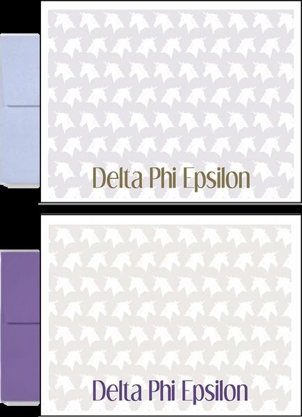 Delta Phi Epsilon Sorority Postcards