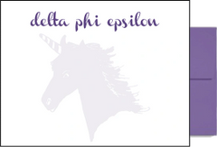 Delta Phi Epsilon Background Postcards