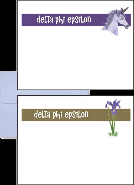 Delta Phi Epsilon Logo Postcards