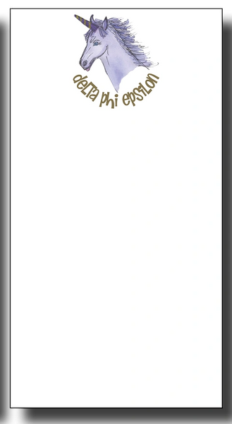 Delta Phi Epsilon Notepad - Skinny