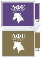 Delta Phi Epsilon Letter Notecards