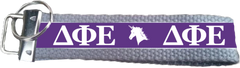 Delta Phi Epsilon Logo Key Fob