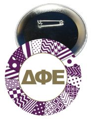 Delta Phi Epsilon Letters Button
