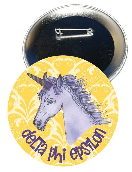 Delta Phi Epsilon Logo Button