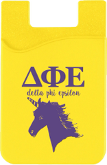 Delta Phi Epsilon Logo Cell Phone Pocket