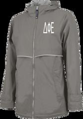Delta Phi Epsilon Letters Rain Jacket