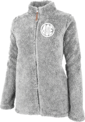 Delta Phi Epsilon Fluffy Fleece Jacket