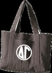 Delta Gamma Monogram Canvas Tote Bag