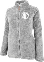Delta Gamma Fluffy Fleece Jacket