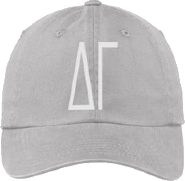 Delta Gamma Gray Ball Cap