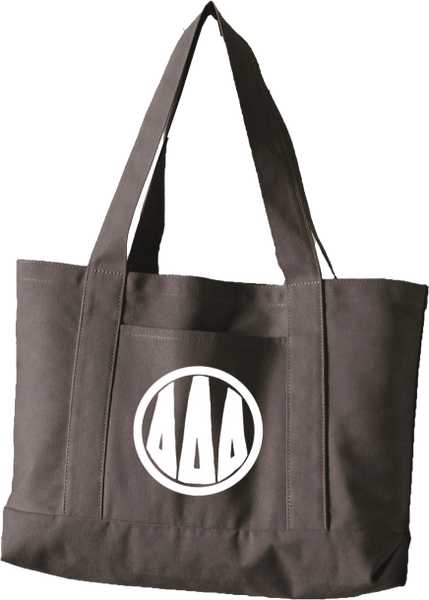 Delta Delta Delta Monogram Canvas Tote Bag