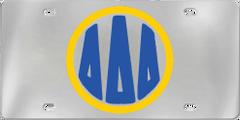 Delta Delta Delta Aluminum Monogram License Plate