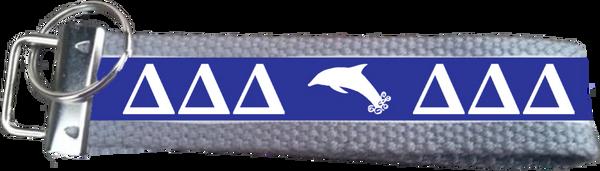 Delta Delta Delta Logo Key Fob