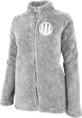 Delta Delta Delta Fluffy Fleece Jacket
