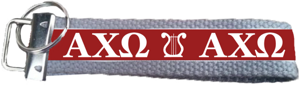 Alpha Chi Omega Logo Key Fob