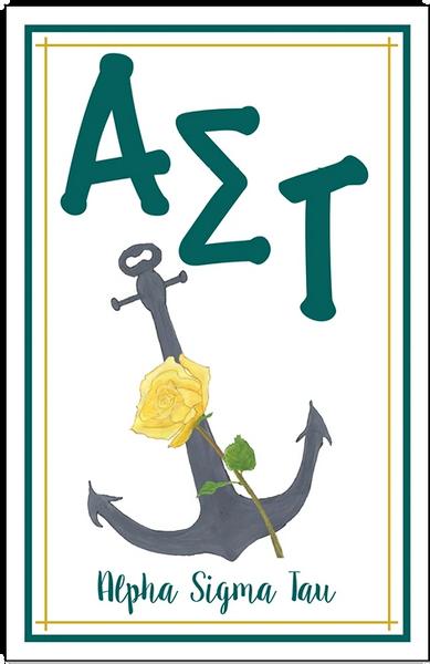 Alpha Sigma Tau Logo Poster