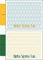 Alpha Sigma Tau Sorority Postcards