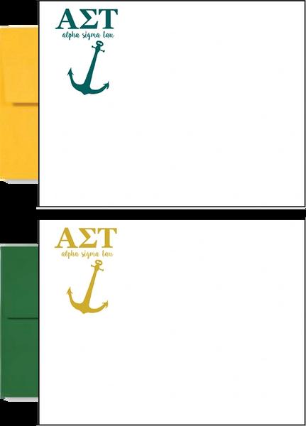 Alpha Sigma Tau Letter Postcards
