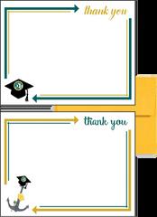 Alpha Sigma Tau Graduation Postcards