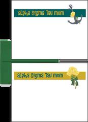 Alpha Sigma Tau Mom Logo Postcards