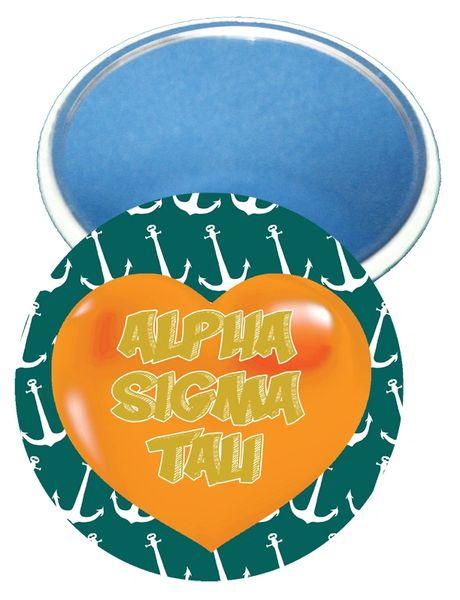 Alpha Sigma Tau Heart Mirror