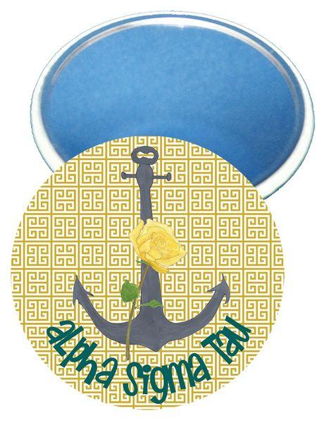Alpha Sigma Tau Logo Mirror
